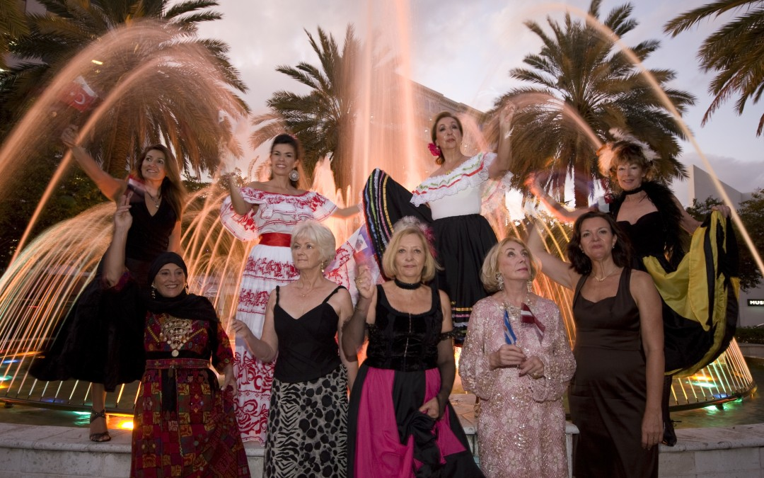 Broward International Women's Club Celebrated 40th Anniversary Milestone At Night of All Nations Dinner/Dance