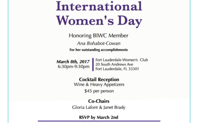 Celebrating International Women's Day 2017